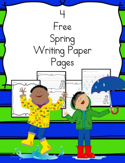 FREE Spring Themed Writing Papers