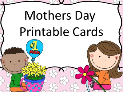 Free Mother's Day Printable Cards