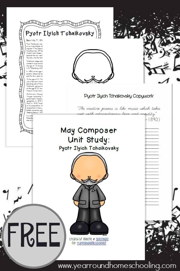 FREE Composer Unit Study: Scott Joplin | Freebies for ...