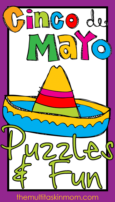 Free Cinco de Mayo Fun and Puzzles Pack