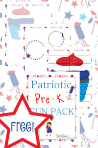patriotic, memorial day, 4th of july, independence day, prek, preschool, homeschool, homeschooling, worksheets, printable