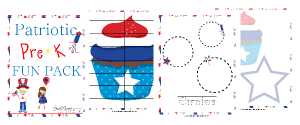 Free Patriotic PreK Fun Pack