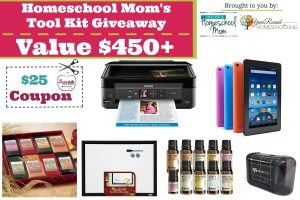 Homeschool Mom's Tool Kit Giveaway – Value $450+