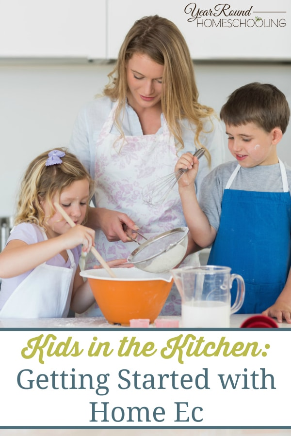 kitchen, home ec, homeschool, homeschooling, kids in the kitchen