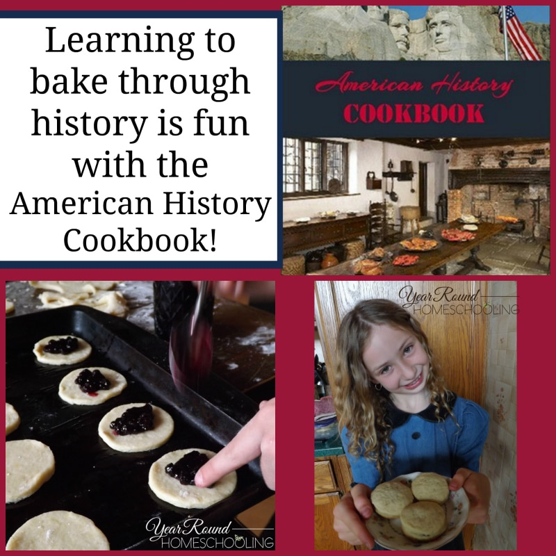 bake, baking, american history cookbook, american history, history, homeschool, homeschooling