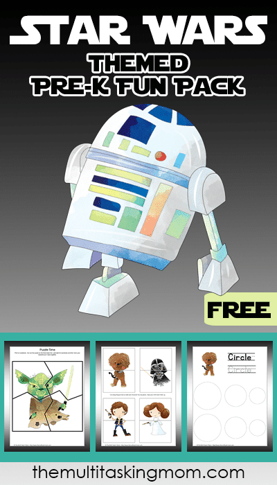 Free Star Wars PreK Fun Pack