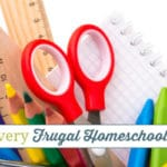 Supplies That Every Frugal Homeschooler Needs