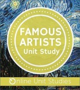 Famous Artists Online Unit Study