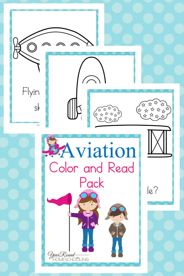 Aviation Color & Read Pack