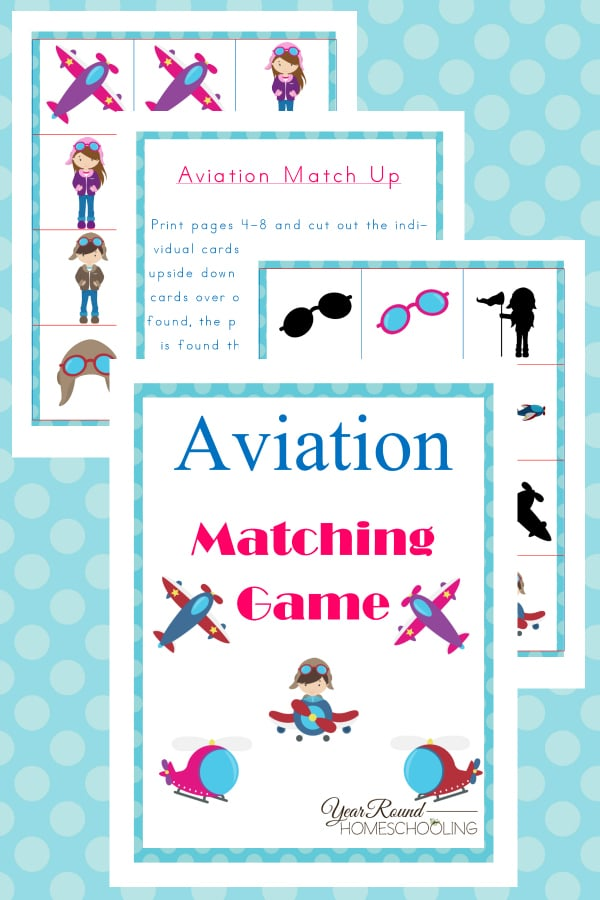 aviation matching game, aviation matching, aviation, matching game, printable