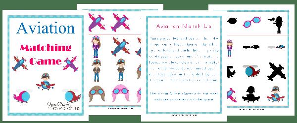 Aviation Matching Game