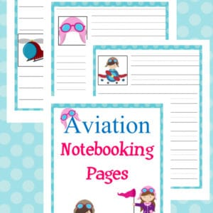 aviation notebooking pages, aviation notebooking, aviation, notebooking, printable