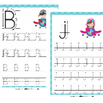 Aviation PreK Handwriting Pack