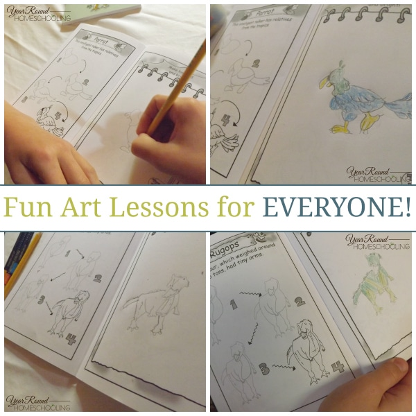 Fun Easy Drawing Lessons For Kids Year Round Homeschooling