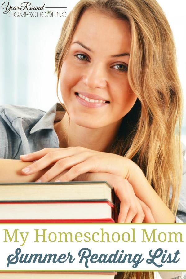 homeschool mom summer reading list, mom summer reading list, mom reading list, homeschool mom reading list, reading list, summer reading list