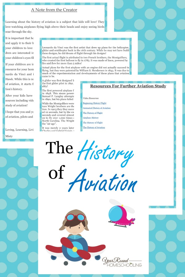 The History of Aviation