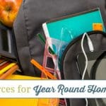 The Best Resources for Year Round Homeschooling