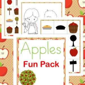 apples fun pack, apples fun, apples