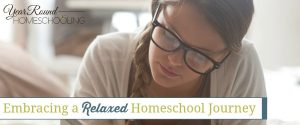 Embracing a Relaxed Homeschool Journey