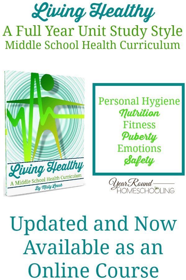 middle school health curriculum, middle school health, homeschool health, homeschool middle school health, middle school homeschool health