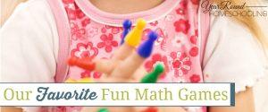 Our Favorite Fun Math Games