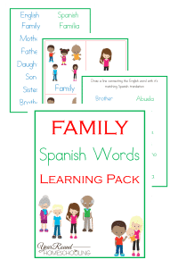 spanish family words, spanish family, spanish words