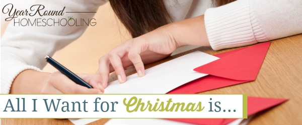 want for Christmas, Homeschool mom Christmas wants, homeschool christmas