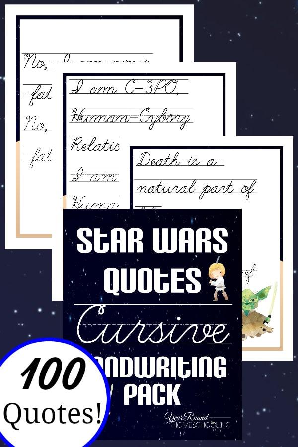star wars handwriting, star wars manuscript handwriting
