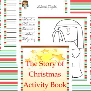 the story of Christmas, story of Christmas, story of Christmas activity