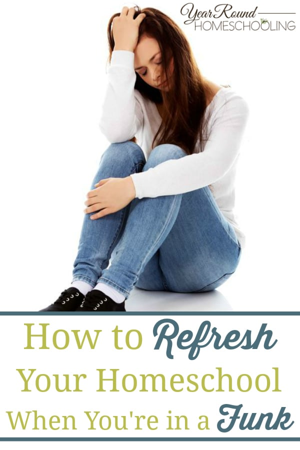 refresh your homeschool when you're in a funk, refresh your homeschool, homeschool funk