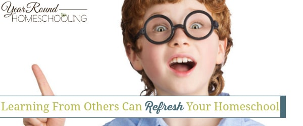 Learning From Others Can Refresh Your Homeschool