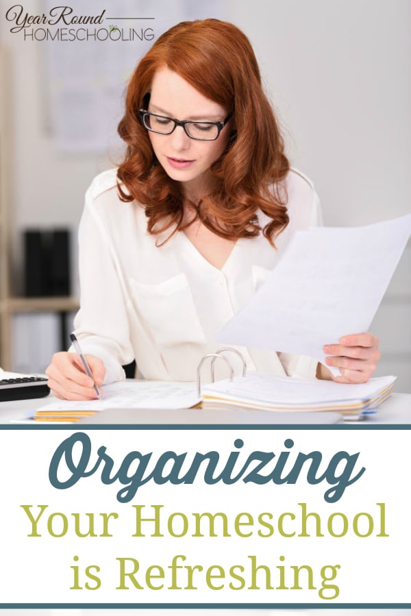 organizing your homeschool, organize homeschool, homeschool organization