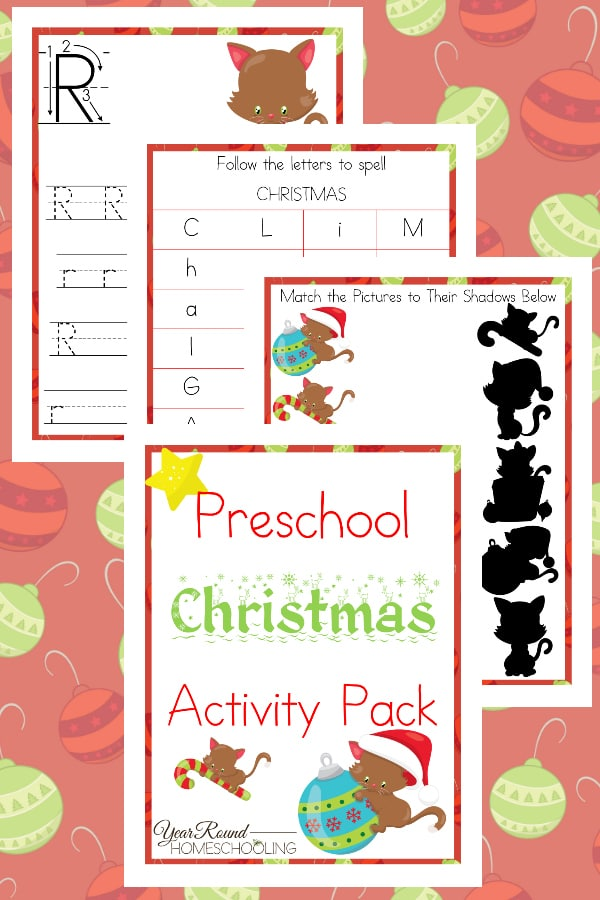 Preschool Christmas Activity Pack