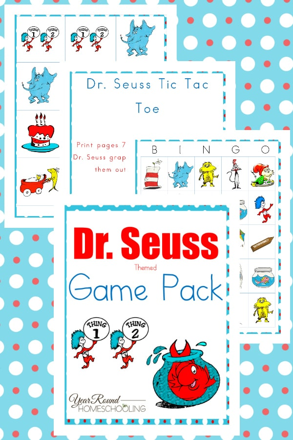 Dr. Seuss Game Pack