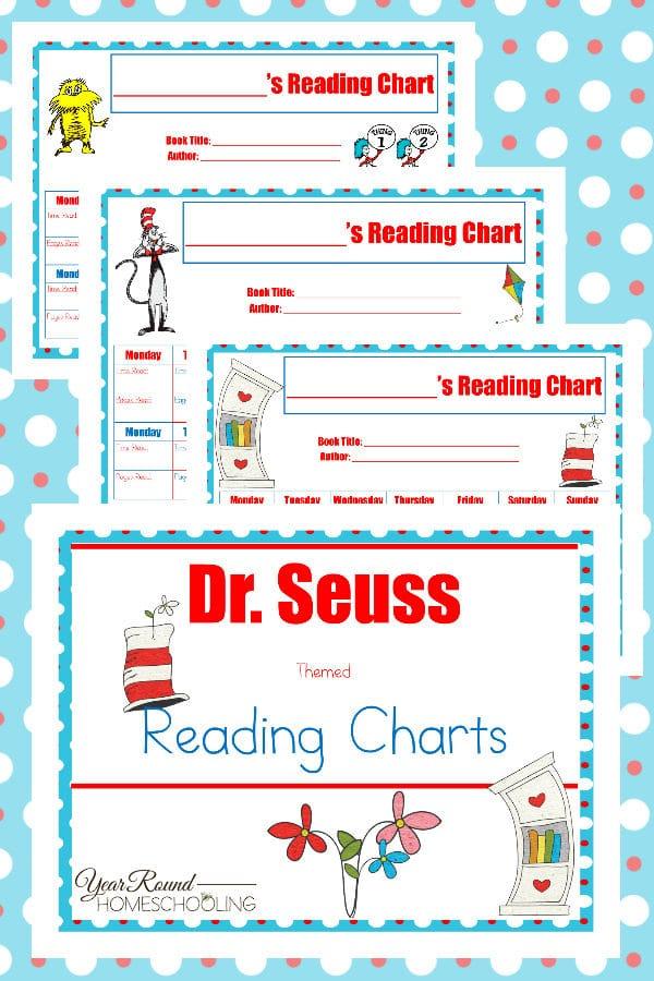 dr. seuss reading charts, reading charts, dr. seuss