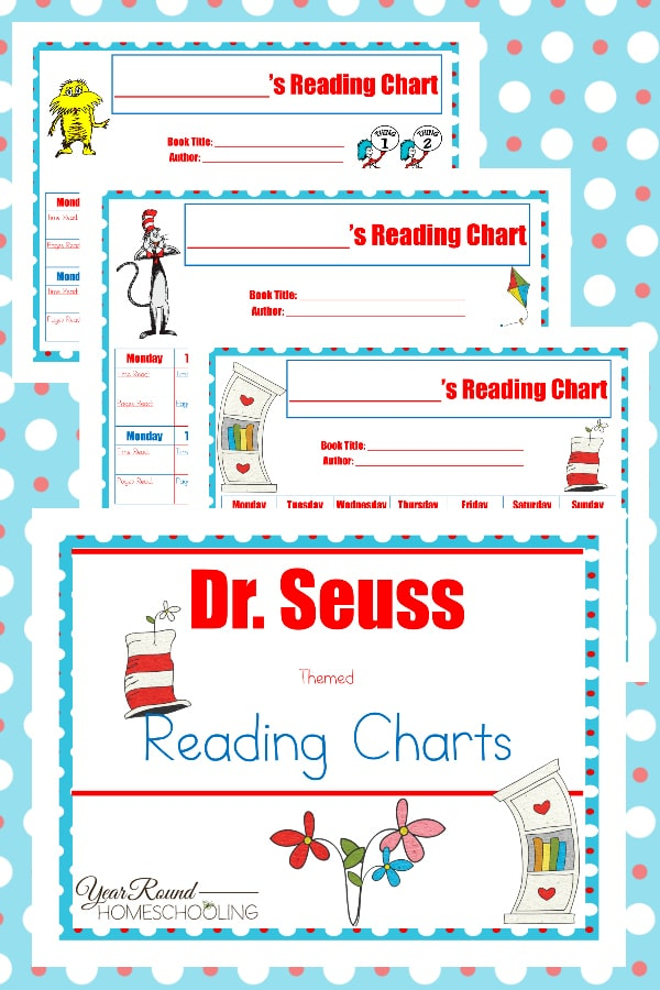 Dr. Seuss Reading Charts