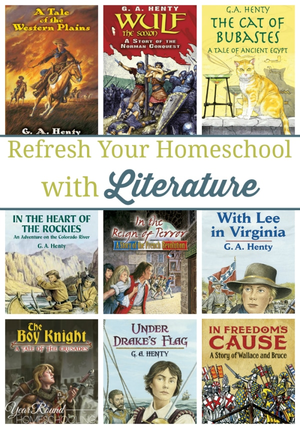 literature,historical fiction, refresh your homeschool