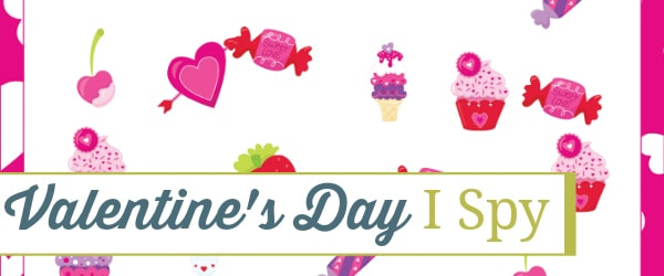 Valentine's Day I Spy, Valentine's Day game, Valentine's Day, I Spy