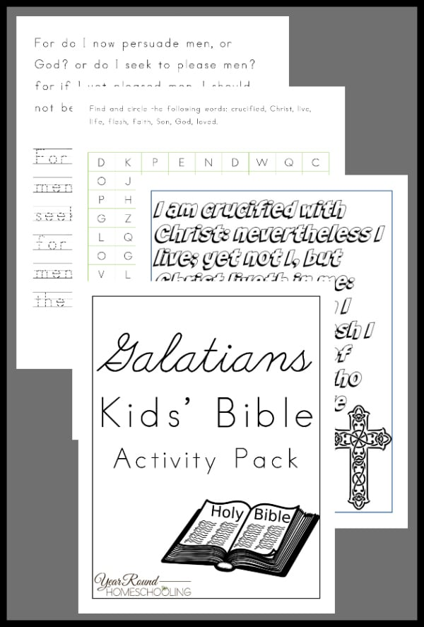 Galatians Kids' Bible Activity Pack