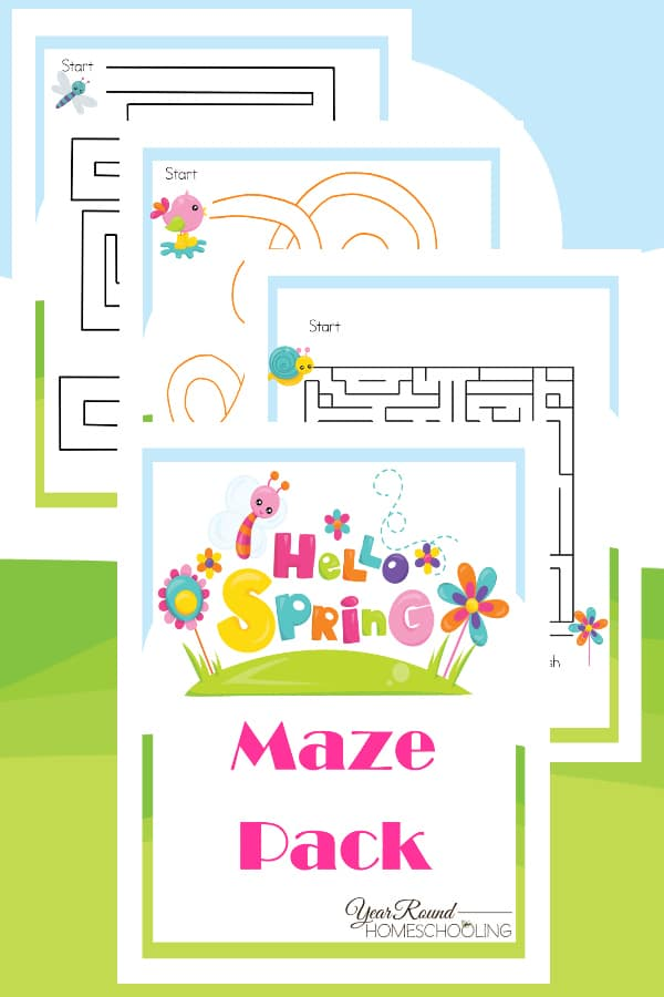 spring mazes, spring maze