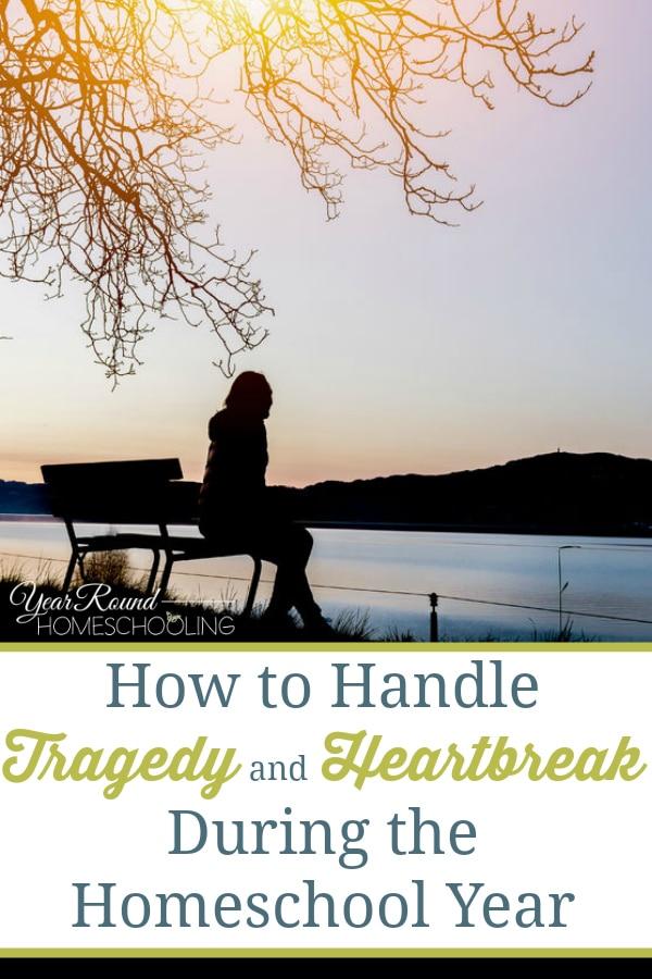 tragedy, heartbreak, homeschool, homeschooling through tragedy, homeschooling through heartbreak