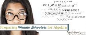 Preparing Middle Schoolers for Algebra