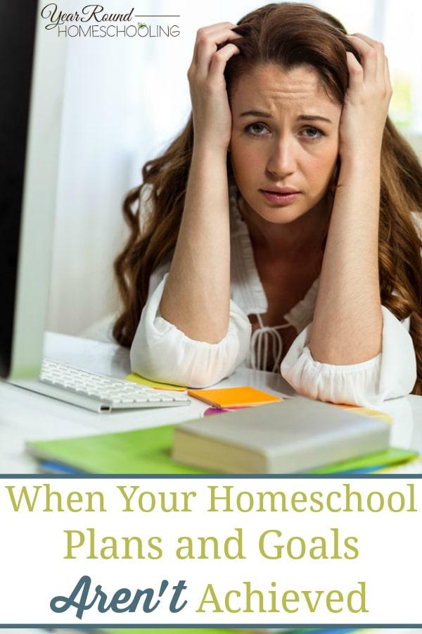 homeschool plans and goals, homeschool plans, homeschool goals
