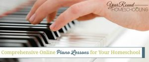 Comprehensive Online Piano Lessons for Your Homeschool