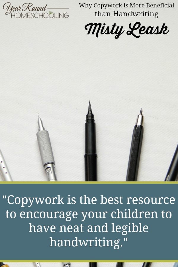 copywork, handwriting, penmanship