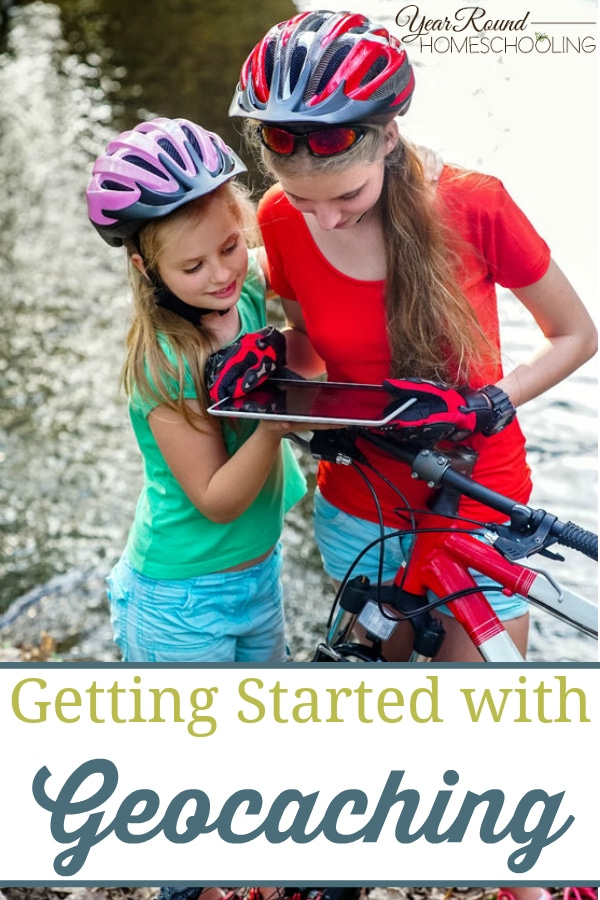 getting started with geocaching, geocaching