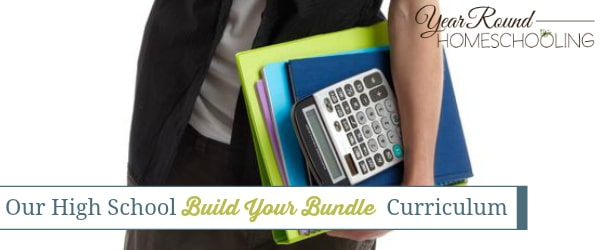 Our High School Build Your Bundle Curriculum