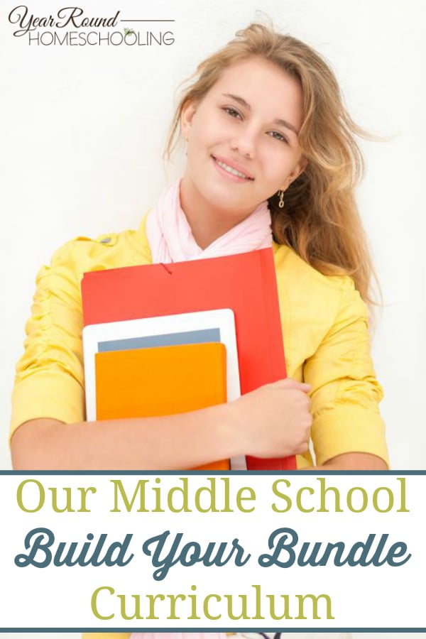 build your bundle curriculum, build your bundle, middle school