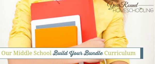 Our Middle School Build Your Bundle Curriculum