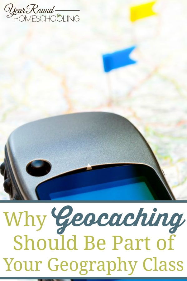 geocaching, geography class, geography